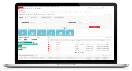 Die Mobiliar - Siebel Partner Portal After UX Transformation
