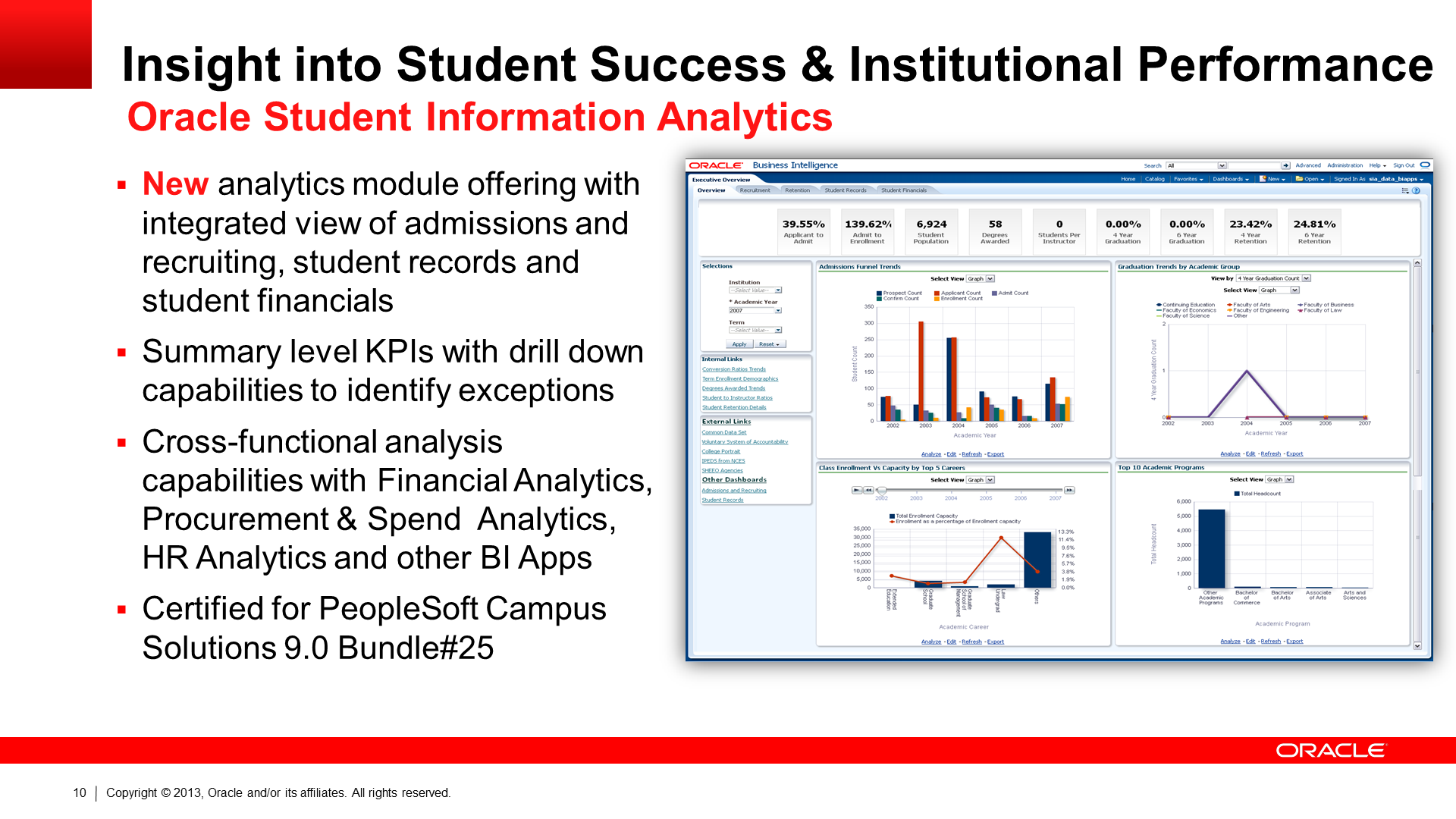 New Student Analytics Application in OBIA 11.1.1.7