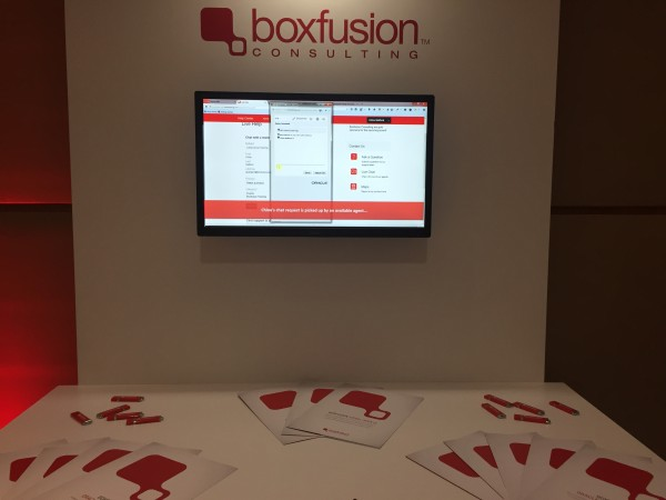 Modern Business Summit Boxfusion Stand