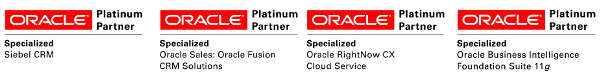 Oracle Platinum Partner Logos