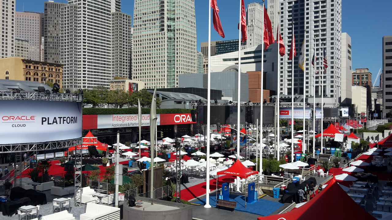 Setting up Howard Street for Oracle Open World 2015