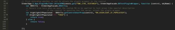 Siebel Open UI - Attach Text Area Plug-in Wrapper