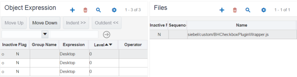 Siebel Open UI - UI Object Expressions/Files
