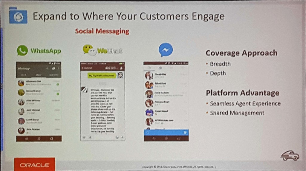 Service Cloud roadmap: social messaging