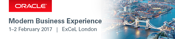 Oracle Modern Business Experience conference 2017